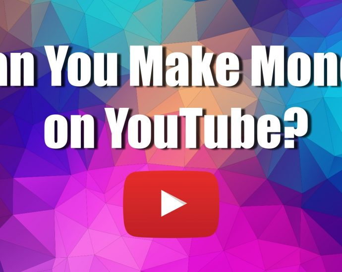 Can you make money on youtube